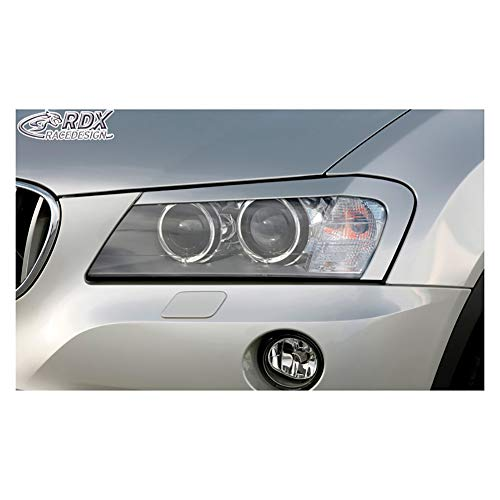 Scheinwerferblenden BMW X3 F25 2010-2014 (ABS)