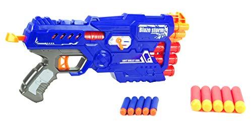 BALLOONSHOP Toyland Blaze Storm - Twin Shot Double Trouble Blaster - Freccette in Schiuma Incluse