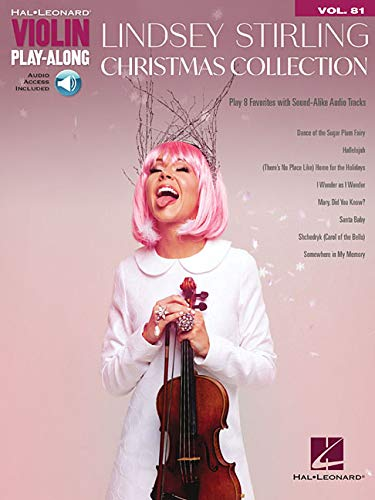Lindsey Stirling - Christmas Collection: Violin Play-Along Volume 81 (Hal-Leonard Violin Play-along)