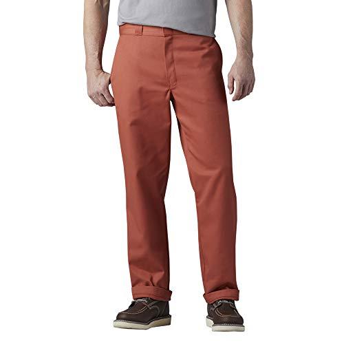 Dickies Men's Original 874 Work Pant, RED Rock, 32 30