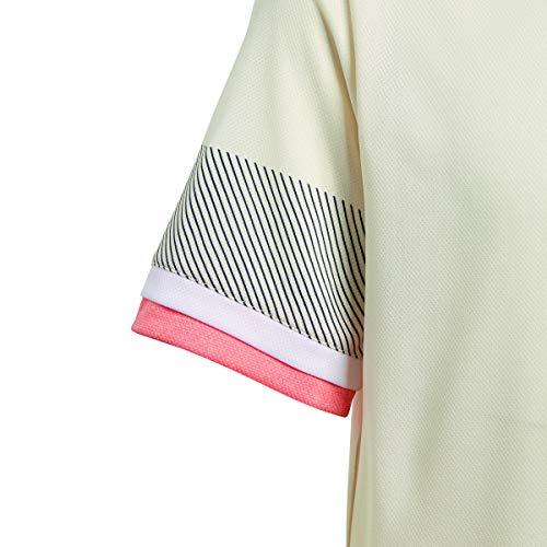 adidas Jungen, Roland Garros T-Shirt Beige, Koralle, 128 Oberbekleidung