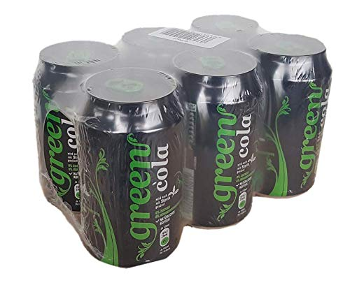 Green Cola - inkl.Pfand   0,33L   natürliches Koffein   Grüne Kaffeebohne   ohne Zucker   Buxtrade   1 Dose