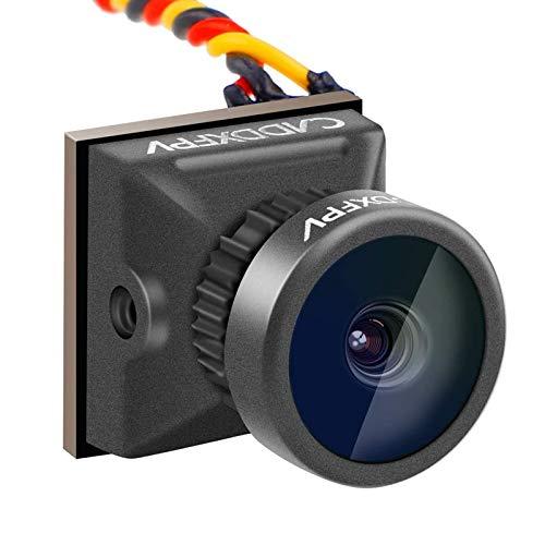Mini FPV Kamera Caddx Turbo EOS2 4: 3 1200TVL 2.1mm FOV 160 Grad 1/3 CMOS PAL Mikro Mini FPV Kamera Schwarz für FPV Quadcopter Racing Drone