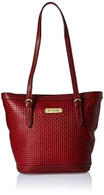 Isle Locada By Hidesign Women's Tote Bag (Red)