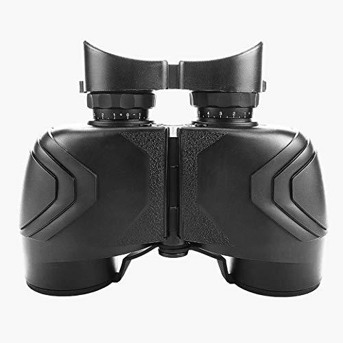 ZTYD 7X50 verrekijker met helder zwak licht visie, HD FMC waterdicht en anti-mist metalen lichaam verrekijker kompas nautische Ranging voor wandelen vogels kijken jacht