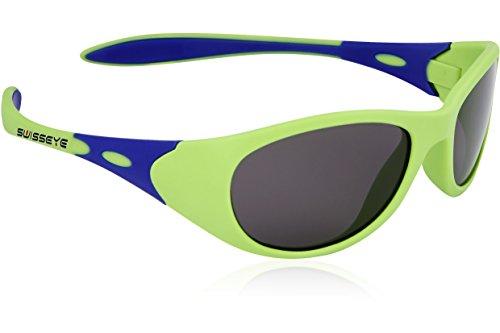 Swiss Eye Kinder Kindersportbrille Toddler, Green Matt/Blue