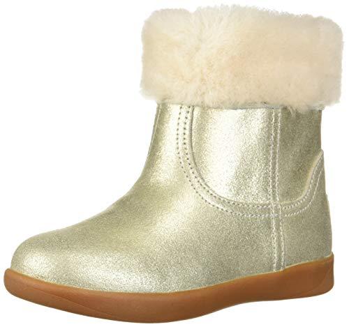 UGG Baby Jorie II Metallic Boot, Gold, 0/1 M US Infant