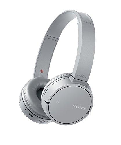 Sony WHCH500H.CE7 - Auriculares inalámbricos de diadema, diafragma de 30 mm, manos libres