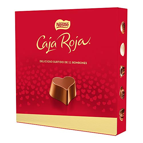 Nestlé Caja Roja Bombones de Chocolate, 100g