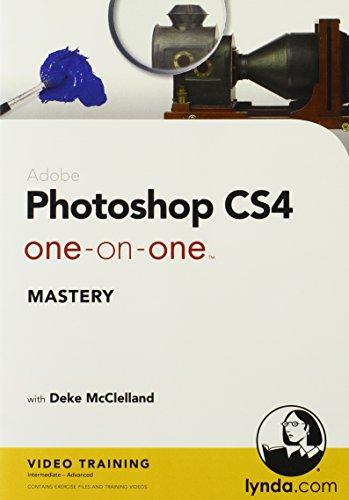 Photoshop CS4 One-on-One Mastery (Mac/PC DVD) [import anglais]