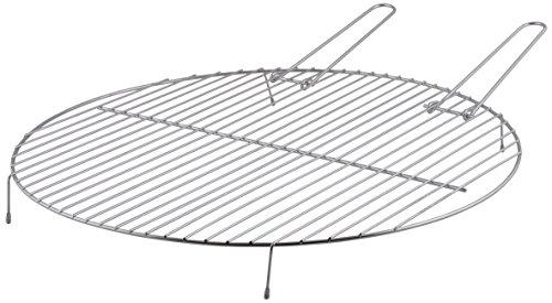 Esschert Design grillrooster voor vuurschalen S, metaal, 52 x 51,5 x 5,4 cm, FF256