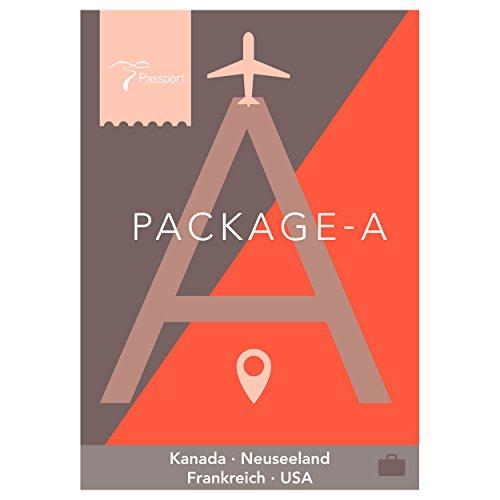 Horizon Passport Virtual Active - USB Stick Pack A (Kanada, Neuseeland, Frankreich, USA)
