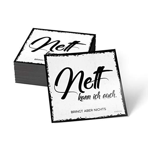 how about tee Nett kann ich auch - bringt Aber Nichts - Kühlschrank- / Whiteboard-Magnet