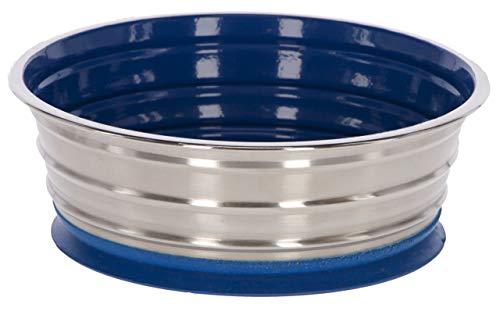 Maxi-Pet 80526 - Ciotola per cani in acciaio INOX, con ventosa, 1900 ml