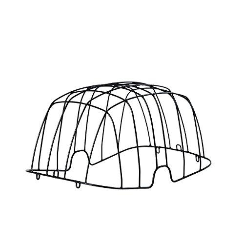 Basil Unisex– Erwachsene Drahtgitter-2128216700 Drahtgitter, Schwarz, One Size