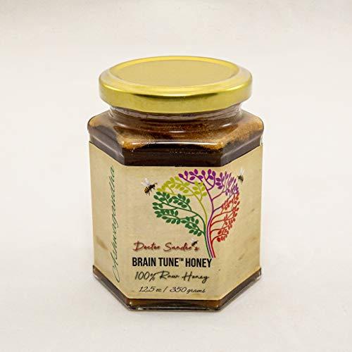 Best Raw Honey | Real Honey Brands | Best honey for health | Raw honey nutrition | Organic Honey for health | Pure honey brands | Doctor Sunder's Raw Honey (Ashwagandha, 12.5 FL Oz)