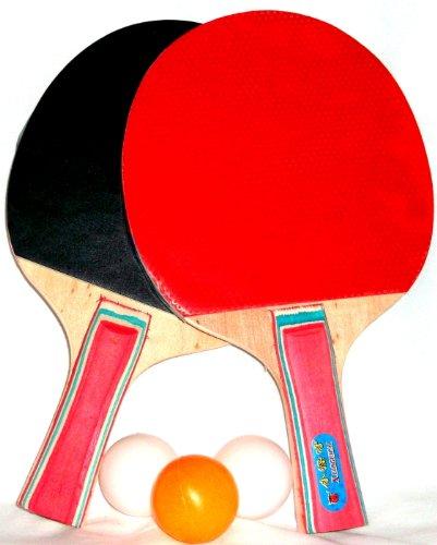 Champion Line Tischtennis Schläger 3 Bälle 2 Schläger Tischtennisschläger
