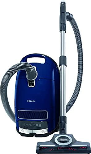 Miele Complete C3 Special PowerLine Bodenstaubsauger (mit Beutel, 4,5 Liter Staubbeutelvolumen, 890 Watt, 12 m Aktionsradius, inkl. Funk-Handgriffsteuerung, Parkett- und Turbobürste) blau
