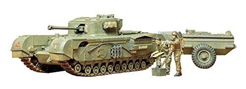 Tamiya 300035100 01:35 Diecast Tanque de la Segunda Guerra Mundial Brit.Pz Churchill C (Importado de Japón)