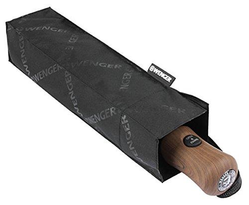 Wenger Regenschirm Partnerschirm (Schwarz) W1000