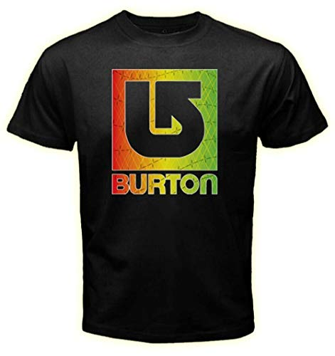 Burton Snowboard Rasta Color Logo T-Shirt Tee Men's Tshirt Size S M L XL 2XL 3XL