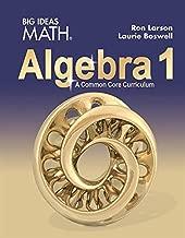 Best big ideas math algebra 1 ron larson Reviews