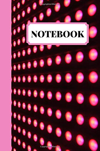 Notebook Journal: 3D Cute Red Dotted Notebook Blank Lined Journal