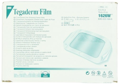Tegaderm 3M Transparent Dressing with Label 4\