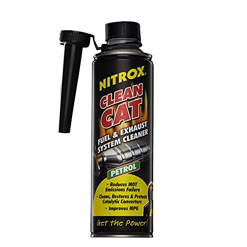 Nitrox Clean Car Petrol Catalytic Converter 500ml - Fuel and Exhaust System...