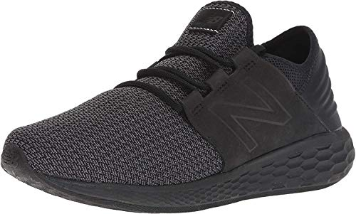 New Balance Cruz V2 Fresh Foam, Basket Homme, Noir, 43 1/3 EU