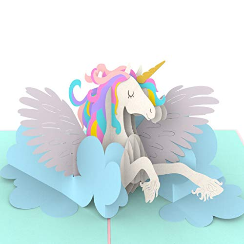 Liif Magical Unicorn 3D Greeting Pop Up Card For ALL Occasions, Valentines Day Card, Mothers Day...