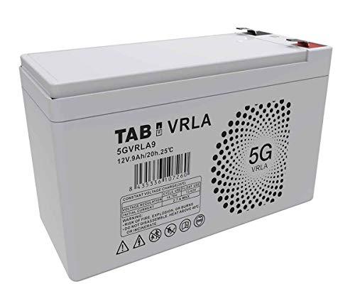 Batería AGM 12V 9Ah Sin Mantenimiento Ni Gases Válvula VRLA - TAB 5GVRLA9