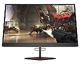 """Omen X 27"""" 240 Hz 1ms Gaming Monitor, QHD 2560 x 1440p, AMD Radeon FreeSync 2 HDR, HDR, DCI P3, (6FN07AA) (Renewed)"""