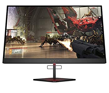 """Omen X 27"""" 240 Hz 1ms Gaming Monitor QHD 2560 x 1440p AMD Radeon FreeSync 2 HDR HDR DCI P3  6FN07AA   Renewed"""