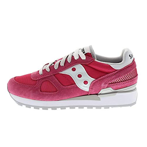 SAUCONY scarpe donna sneakers basse S1108-677 SHADOW ORIGINAL taglia 37 Fucsia
