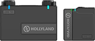 Hollyland Lark 150 Solo Kit 2.4GHz Wireless Lavalier Microphone System with 1 Transmitter, 1 Receiver and 1 Lapel Micropho...