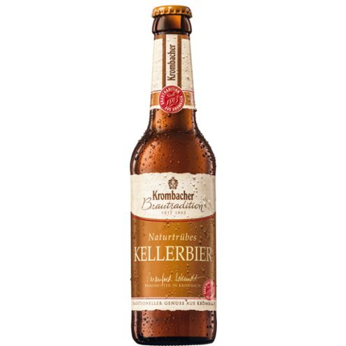 20 Flaschen a 0,5L Krombacher brautradition Kellerbier naturtrüb a 500ml inclusiv 1.80€ MEHRWEG Pfand Bier inc. Pfand 5,1% Vol.