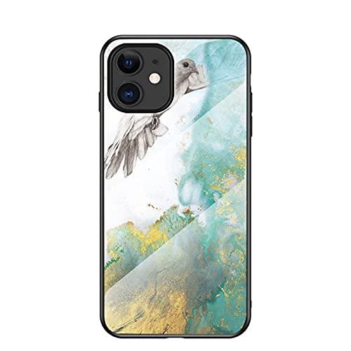 Se Adapta A Los Casos MóViles De MáRmol Iphone12, Se Adapta A Los Casos De Vidrio Templado iPhone 11