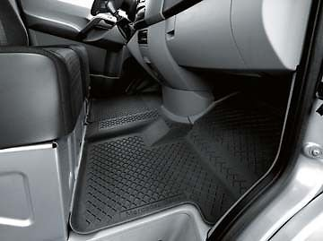 CPW (tm) Mercedes Benz Sprinter Black All Season Floor Mats with code h00 66570009