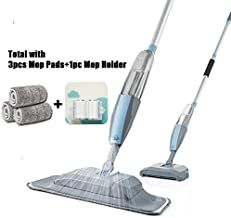 Flipping Flat Mop Floor Mop Mop 3 in 1 Spray Mop and Sweeper Machine Vacuum Cleaner Hard Floor Flat Cleaning Tool Set for ...