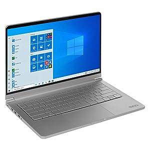 "EVOO 14.1"" Ultra Slim Notebook - Elite Series, FHD Display, AMD Ryzen 5 3500U Processor with Radeon Vega 8 Graphics, 8GB RAM, 256GB SSD, HD Webcam, Windows 10 Home, Silver"