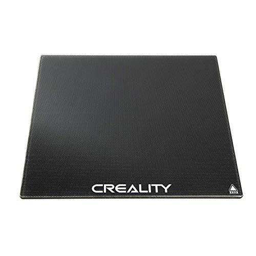 Creality CR Pannello in vetro CR 10S in set da 10, per letti di stampa, piattaforma per stampante 3D migliorata, da 310 x 310 x 4 mm