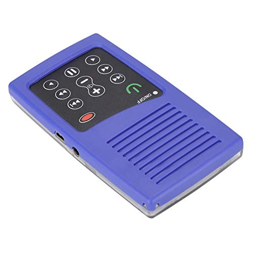 01 Lector de Libros electrónicos, Lector de Libros, Conveniente, portátil, fácil de Llevar, Uso Profesional para oyentes de la(Arabic Blue)