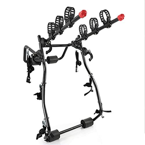 LZL Deluxe Black Trunk Mounted Bike Rack for Most Car SUV (Sedans/Hatchbacks/Minivans) 3-Bike Trunk Mount Bicycle Carrier Rack. (Color : B)