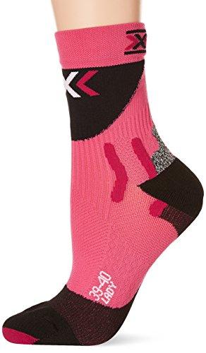 X-Socks Herren Socken BIKING PRO LADY, Fuxia/Black, 39/40, X100045