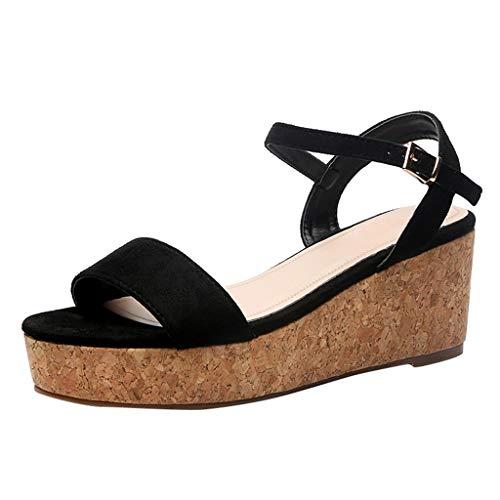 Sandalias para Mujer de Malla Velcro Deportivo de Calzado Casual Ligero Respirado Ligero Running Zapatillas Sacudir Zapatos de Mocasines Verano zapatos mujer caucho