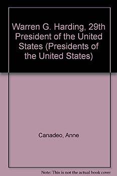 Hardcover Warren G. Harding, 29th President of the United States (Presidents of the United States) Book