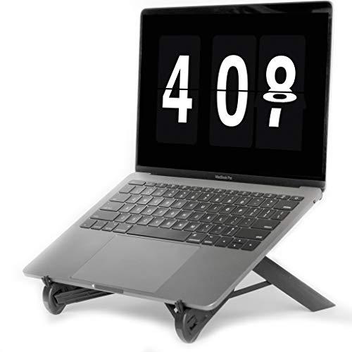 NEXSTAND K7 Lite // Nieuw voor 2019 // Draagbare Laptop Stand // Opvouwbare Desktop Notebook Houder Mount- Eye-Level Ergonomische Hoogte Ontwerp // Laptop Riser voor Notebook, Laptop, iPad en Tablet
