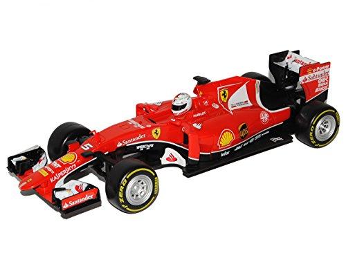 RC Auto kaufen Rennwagen Bild 3: Maisto Ferrari SF70-H Sebastian Vettel Nr 5 Formel 1 2017 27 MHz RC Funkauto - inklusive Batterien - sofort startklar 1/24 Modell Auto*