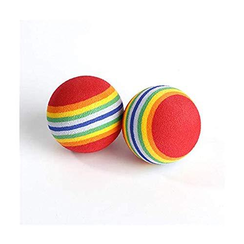Romote Foam Praxis Golfbälle, 20pcs, Regenbogen-Farben, Indoor/Outdoor Golf Practice